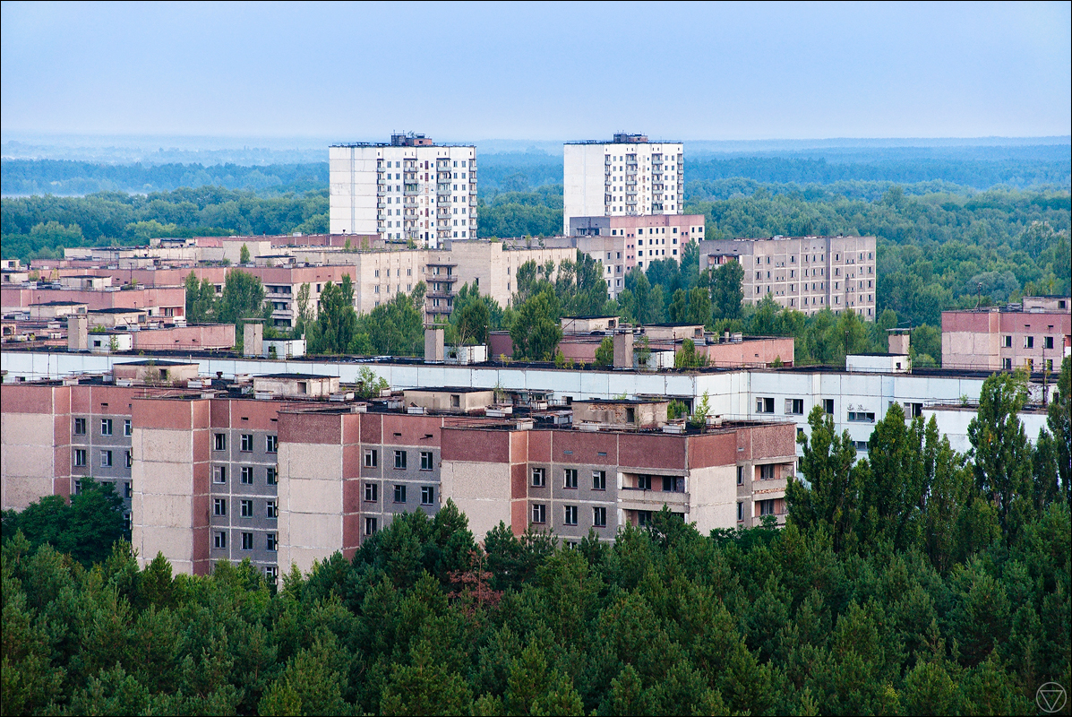 Pripyat in summer