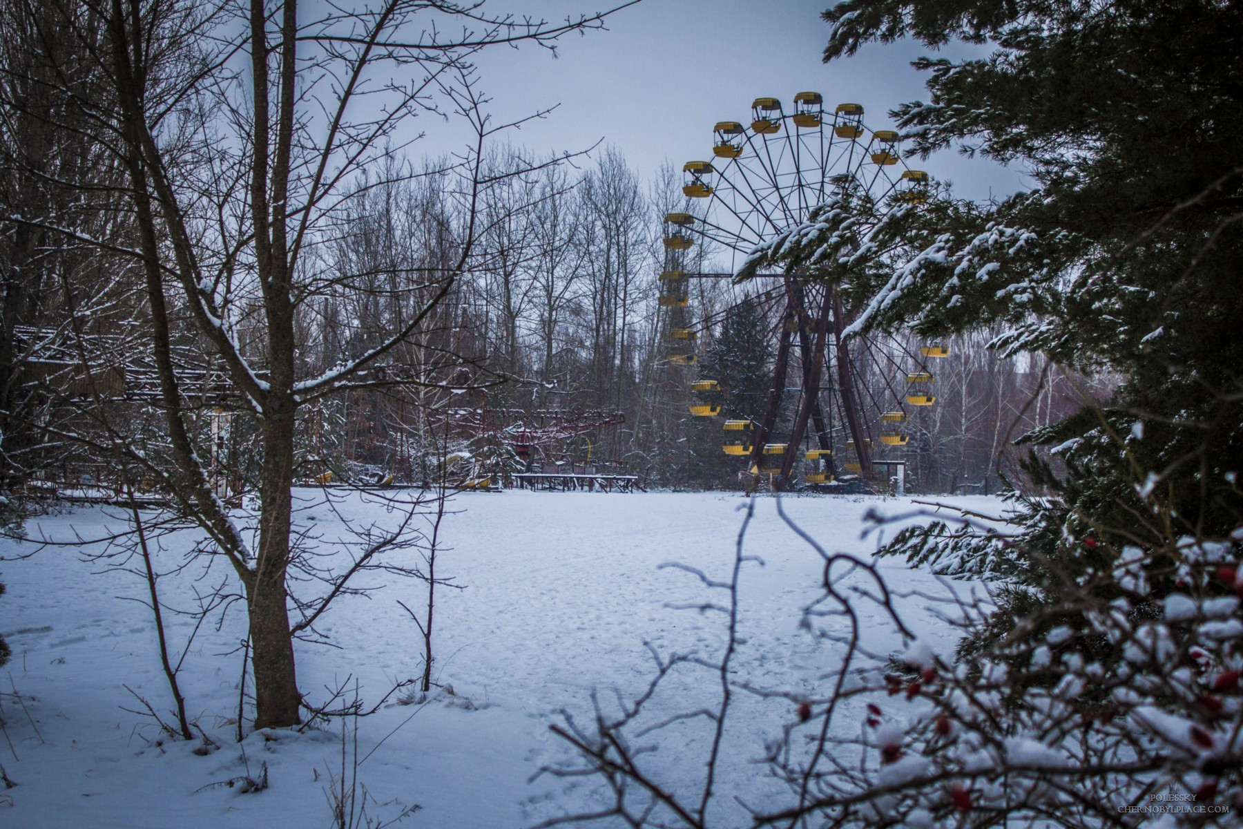 Pripyat in winter