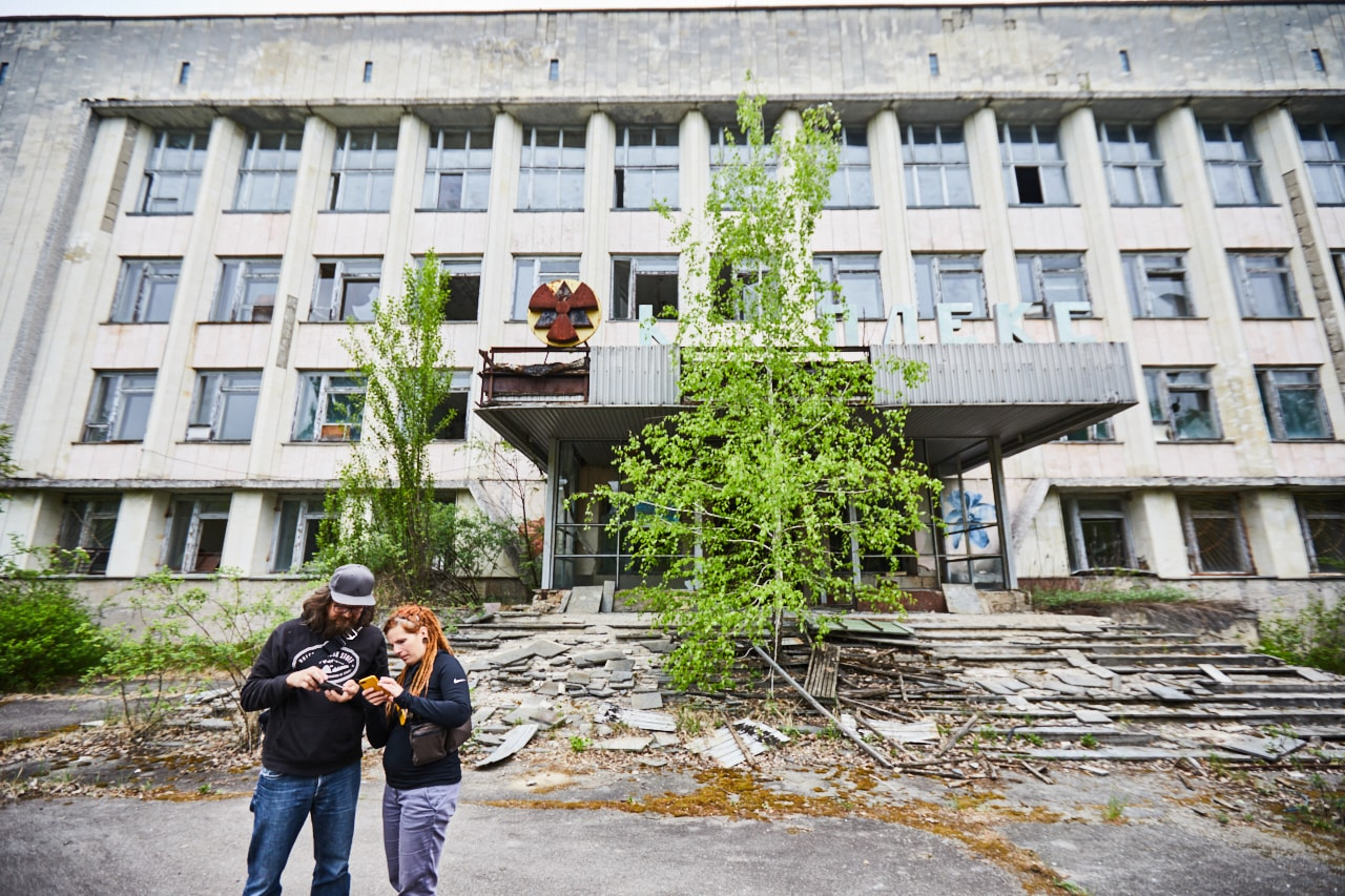 City councel Pripyat photo now
