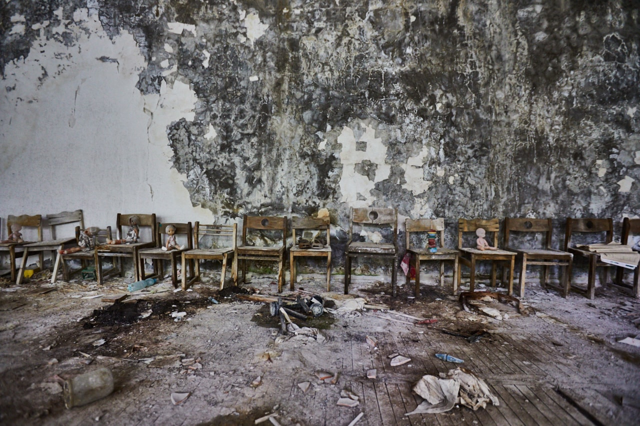 Golden key kindergarten Pripyat now photo