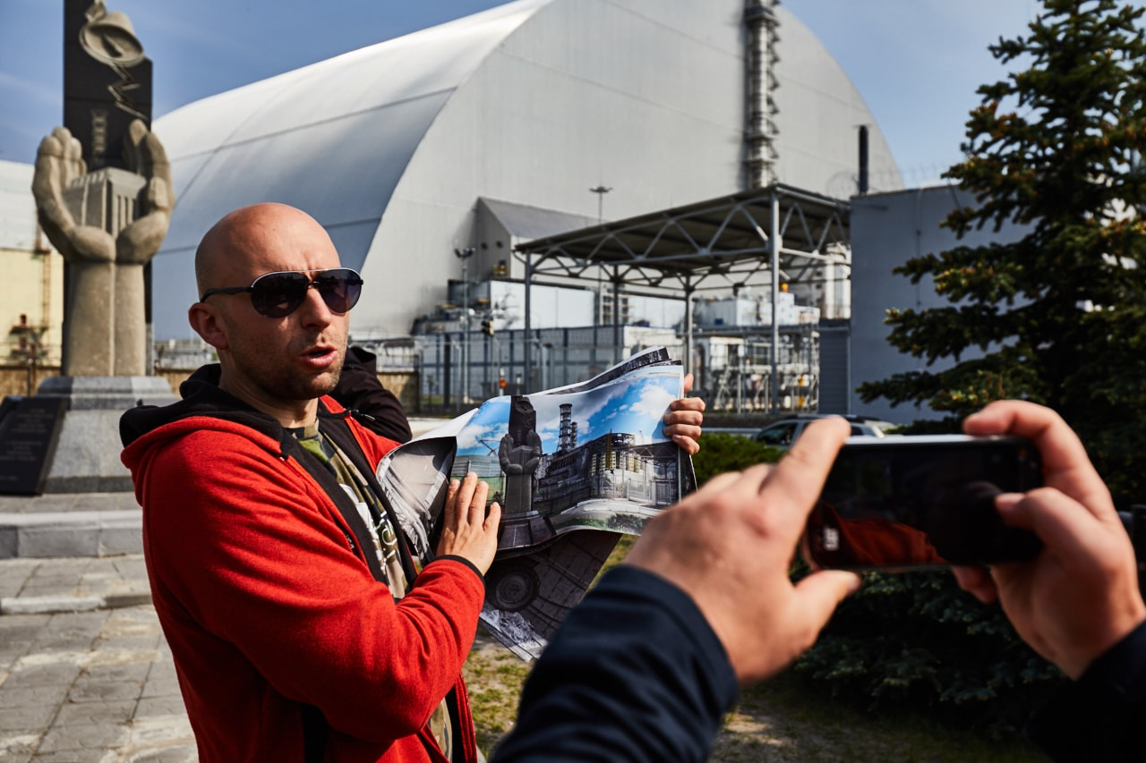 New Safe Confinement site at CHNPP photo now