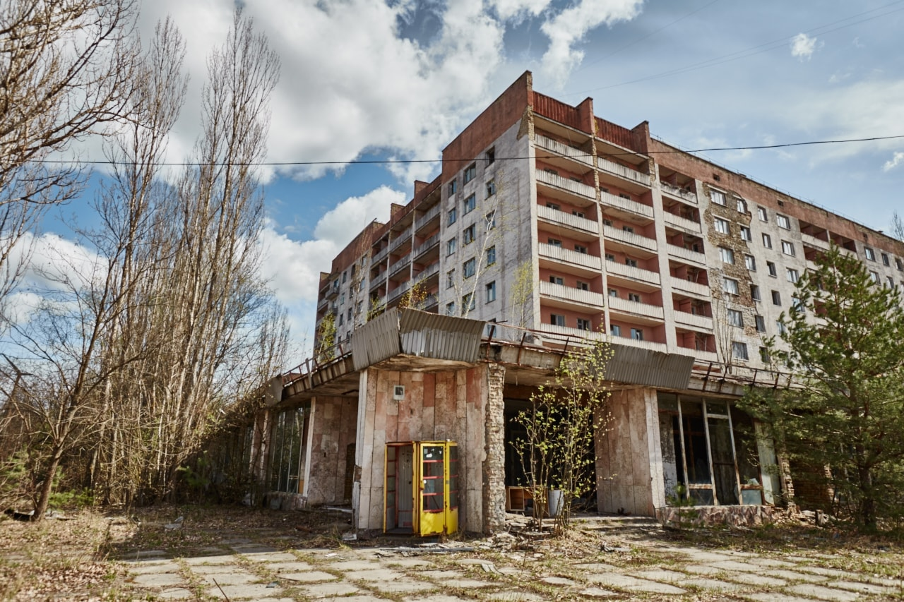 Rainbow shopping center in Pripyat