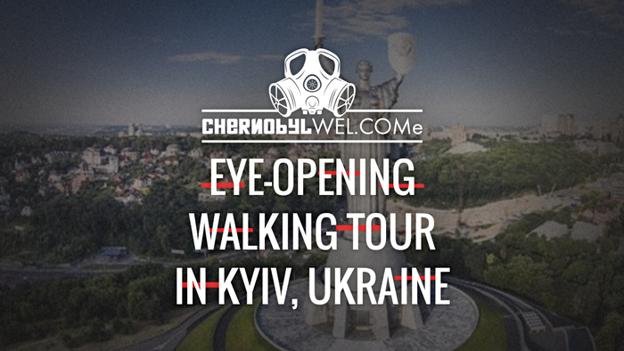 Walking tour in Kiev  chernobylwel.come tour video