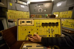 Control panel simulation missile base