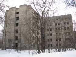 The abandoned building of the Brain research institute dark kiev tour chernobylwel.com