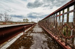 Bridge of death pripyat photo