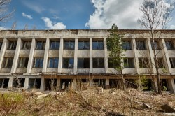 City council in pripyat chernobyl photo now