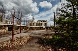 Hotel Polissya Chernobyl photo now