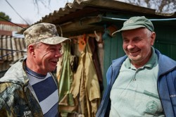 Meeting self-settlers photo now people Chernobyl Exclusion Zone