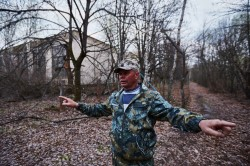 Old Chernobyl streets pripyat photo guide tour