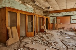 Post office pripyat now photo
