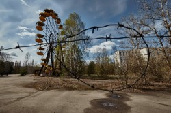 Pripyat amusement park fairground