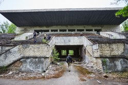 Avantgard stadium football chernobyl Exclusion Zone