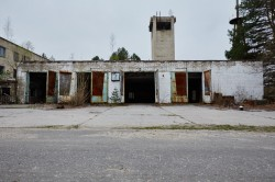 Fire station chernobyl pripyat abandoned now photo