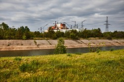 Unfinished reactor 5 and 6 Chernobyl Nuclear Power Plant