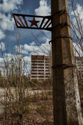Exploring Pripyat streets Chernobyl Exclusion Zone