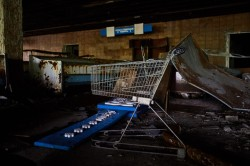 Grocery store Chernobyl abandoned now