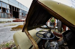 Jupiter factory pripyat abandoned soviet photo now