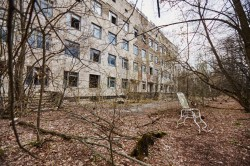 Pripyat hospital number nr. 126 radiation photo now Chernobyl Exclusion Zone