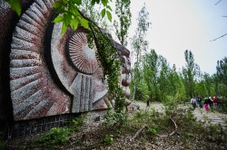Prometheus cinema theatre pripyat photo now
