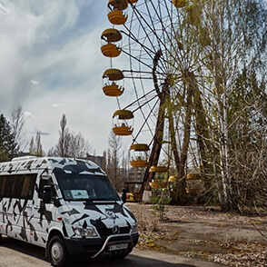 Chernobyl tour resettlers residents CHERNOBYLwel.come video life
